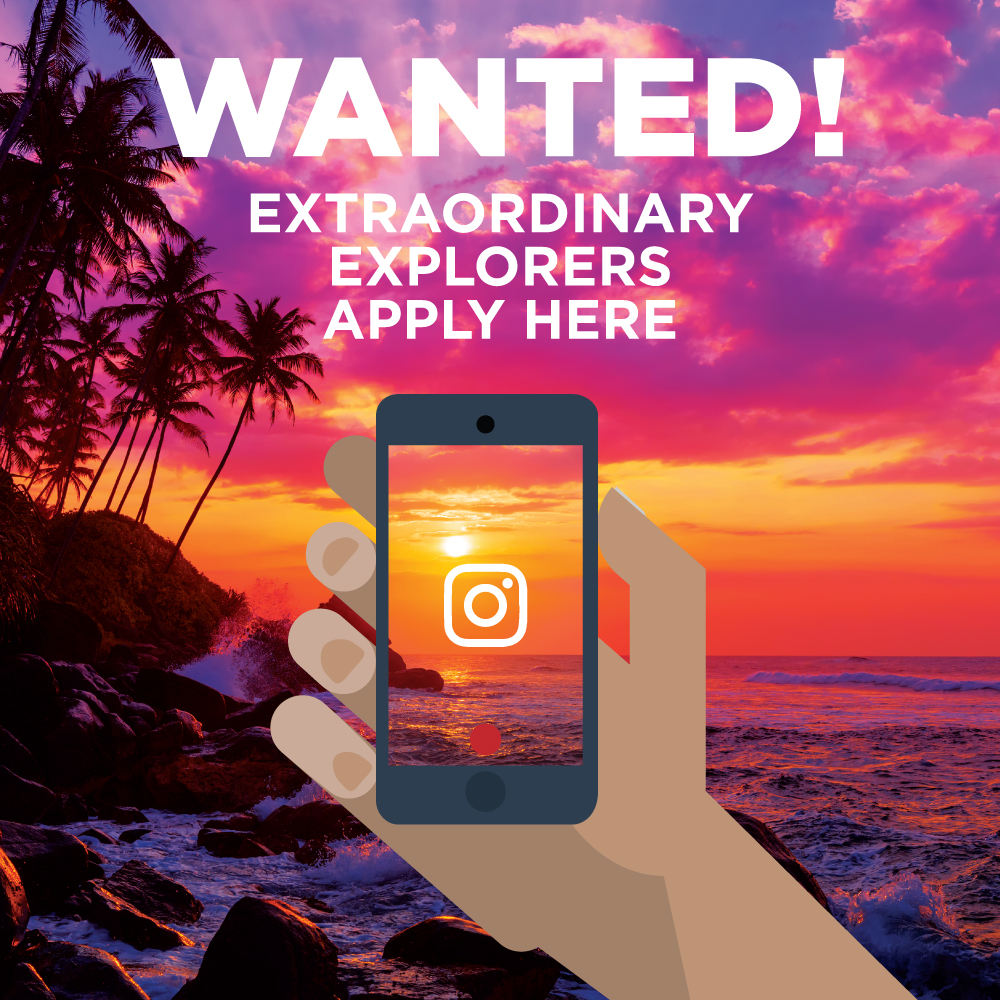 Intern-Ship of the Seas - wanted poster for Instagram competition square