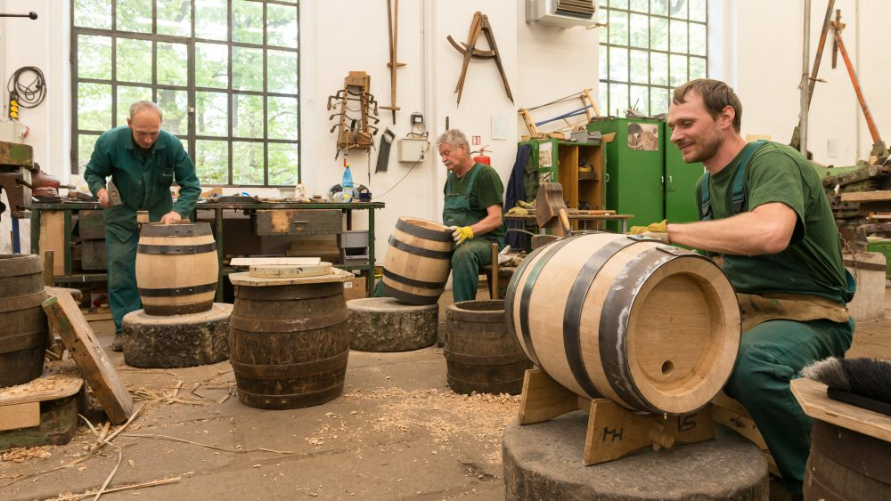 The Pilsner Urquell cooperage